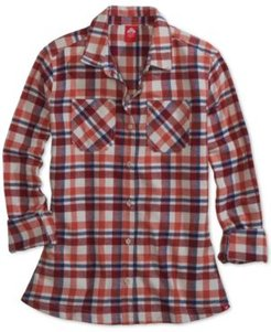 Ems Women's Timber Fitted Plaid Flannel Shirt