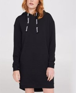 Popover Sweat Ribbed Dress