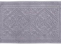 "Jaquard Bath Rug 21"" x 34"" Bedding"