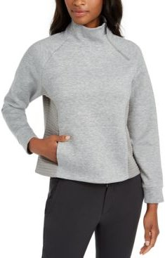 Campbell Mock-Neck Active Sweater