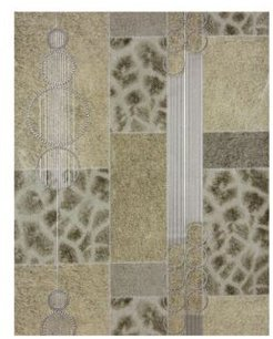 "Brewster 21"" x 396"" Serengeti Patchwork Wallpaper"