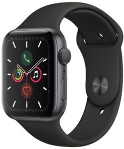 Gps, 44mm Space Gray Aluminum Case with Black Sport Band