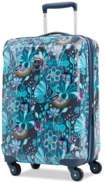 """Infinity Lite 3 Lotus Temple 21"""" Hardside Carry-On Spinner Suitcase, Created for Macy's"""