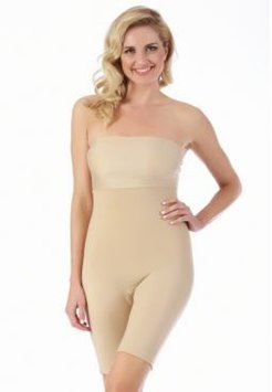 InstantFigure Compression Bandeau Bodyshort with Mid-Thigh Length