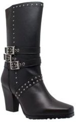 "RideTec Women's 12"" Heeled Buckle Boot Women's Shoes"
