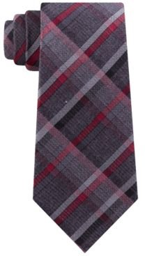 Hudson Slim Plaid Tie