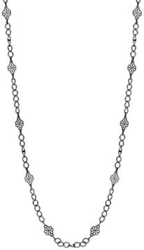 Filigree Clover Links Chain Necklace