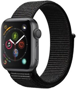 Gps, 40mm Space Gray Aluminum Case with Black Sport Loop