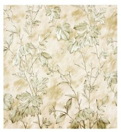 "Brewster 21"" x 396"" Portofino Cow Leaves Wallpaper"