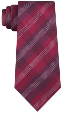 Slim Plaid Tie