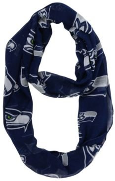 Seattle Seahawks All Over Logo Infinity Scarf