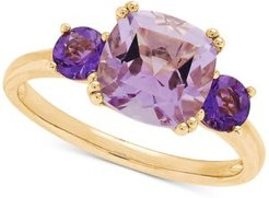 Amethyst Three Stone Ring (2 ct. t.w.) in 14k Gold