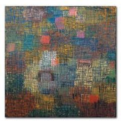 """Paul Klee 'Colors From A Distance' Canvas Art - 35"""" x 35"""" x 2"""""""