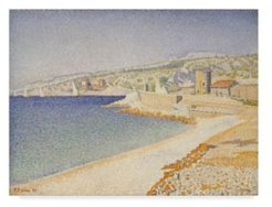 """Paul Signac 'The Jetty At Cassis Opus' Canvas Art - 19"""" x 14"""""""
