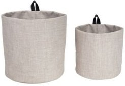 Hang Around Soft Storage Bins, Set of 2