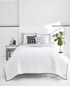 Now House by Jonathan Adler King Pompeia Quilt Set Bedding