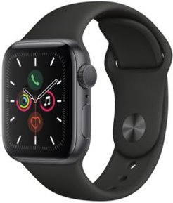 Gps, 40mm Space Gray Aluminum Case with Black Sport Band