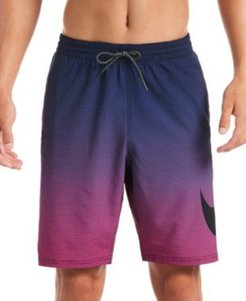 "6:1 Stripe Breaker Water-Repellent Ombre 9"" Board Shorts"