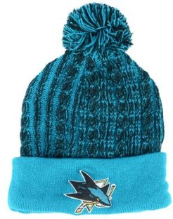 San Jose Sharks Iconic Ace Knit Hat