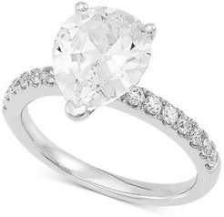 Lab Grown Diamond Engagement Ring (2-1/3 ct. t.w.) in 14k White Gold