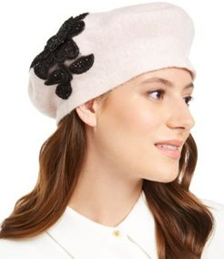 Applique Melton Beret