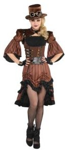 Dreamy Steamy Adult Women's Costume