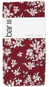 Higson Floral Pocket Square, Created For Macy's