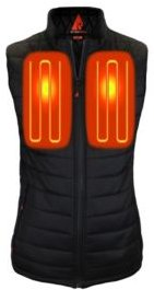 5V Battery Heated Puffer Vest