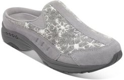 TravelTime Snow-Print Mules Women's Shoes