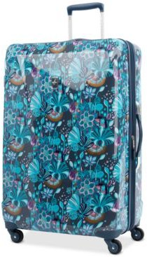"""Infinity Lite 3 Lotus Temple 29"""" Hardside Spinner Suitcase, Created for Macy's"""