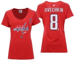 Fanatics Women's Alexander Ovechkin Washington Capitals Player T-Shirt