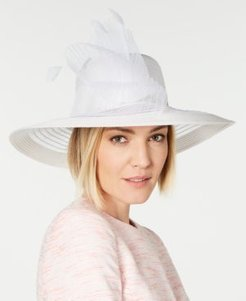 Sheer Wide-Brim Hat, Created for Macy's