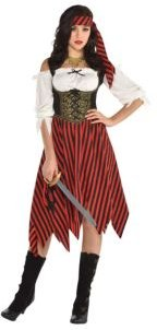 Pirate Beauty Adult Women's Costume