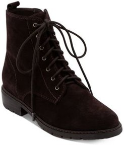 Voilet Lace-Up Waterproof Booties, Created for Macy's Women's Shoes