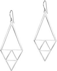 Inner Triangle Earrings