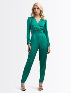 No Goodbyes Jumpsuit Xl Wintergreen