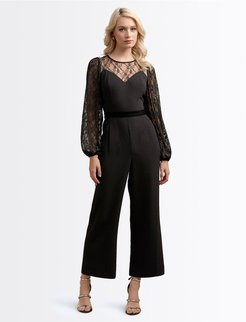 Midnight Magic Jumpsuit Xs Black