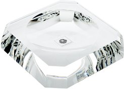 KR STS Kristall Soap Dish - Crystal Clear