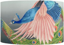 Flying Peacock Lamp Shade - Large