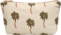 African Palmier Travel Pouch