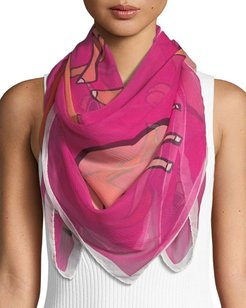 Cool Camels Silk Scarf