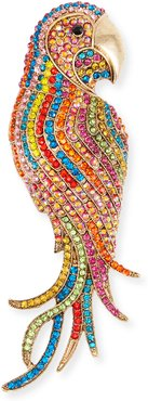 Multicolored Embellished Parrot Hair Pin