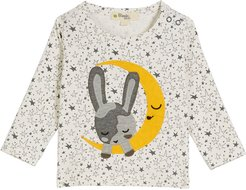 Chamrin Moon & Bunny T-Shirt, Size 6-24 Months