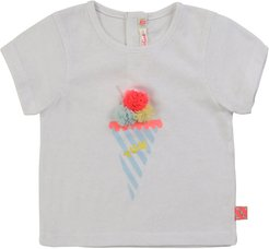 Girl's Ice Cream Graphic Short-Sleeve Tee, Size 2-3
