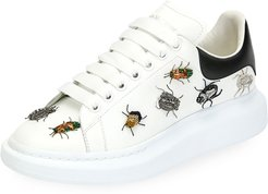 Larry Beetle Ornament Platform Sneakers