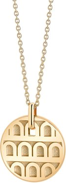 L'Arc de Davidor 18k Gold Pendant Necklace - Petite Model