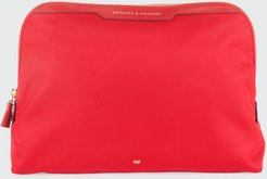 Lotions & Potions Cosmetics Bag, Red