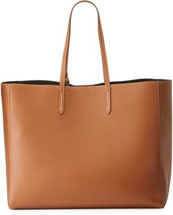 Smooth Leather Tote Bag