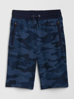 Kids Pull-On Shorts In French Terry