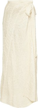Cecile Crocheted Cotton Maxi Skirt